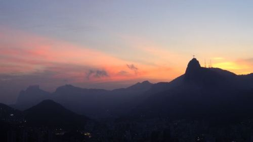 Sunset on the Morro da Urca